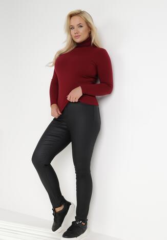 Czarne Spodnie Skinny Semope