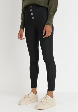 Czarne Spodnie Skinny Lalea
