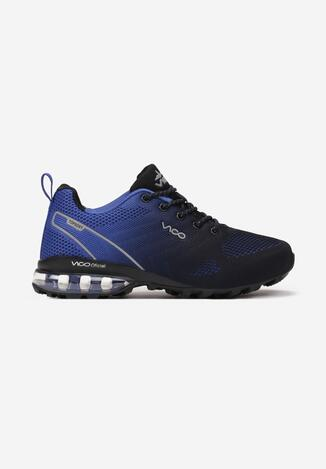 Niebiesko-Czarne Buty Sportowe Thespophia