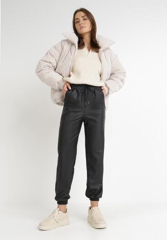 Czarne Spodnie Hyryne