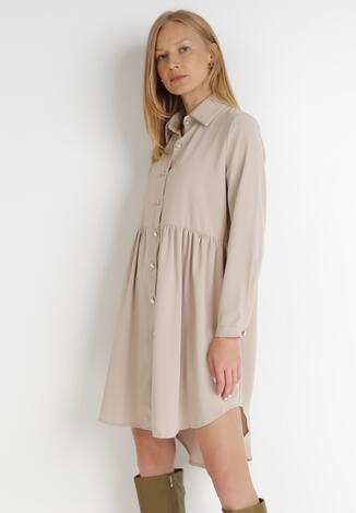 Beżowa Sukienka Kassobe