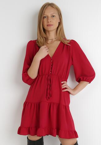 Czerwona Sukienka Kaseda