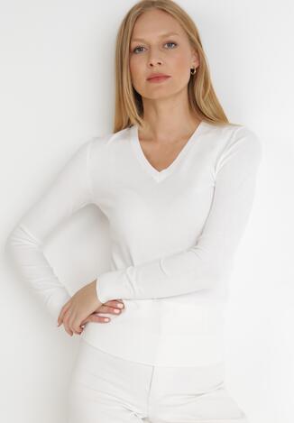 Biały Sweter Iolyle