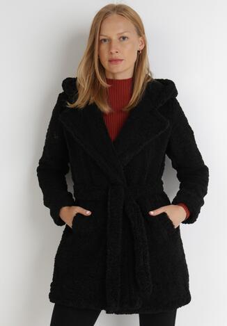 Czarny Płaszcz Evala