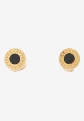 Złoto-Czarne Kolczyki Caeare