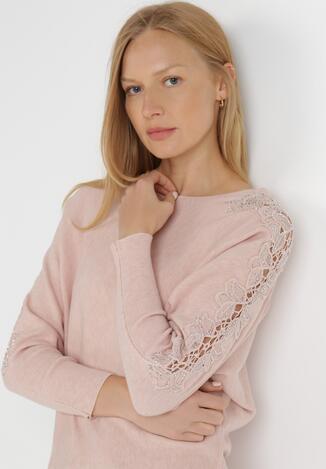Różowy Sweter Olomaris