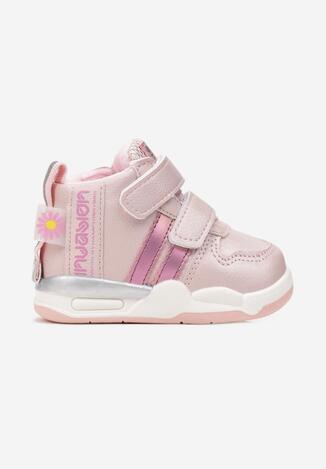 Różowe Buty Sportowe Zinstina