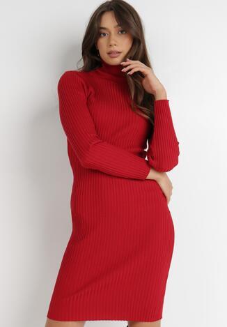 Czerwona Sukienka Rosea