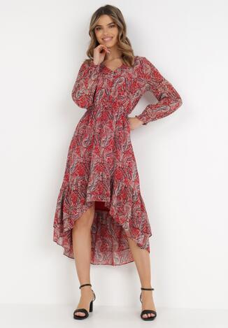 Czerwona Sukienka Eidousa
