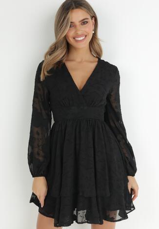 Czarna Sukienka Iolippe