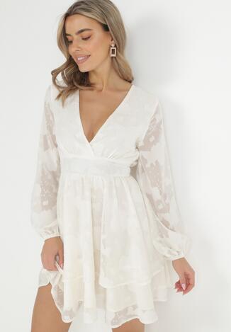 Kremowa Sukienka Iolippe