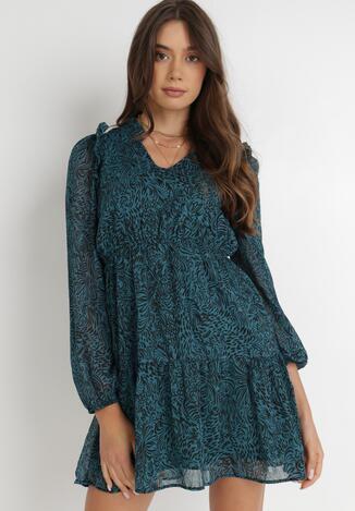 Zielona Sukienka Phelyllis