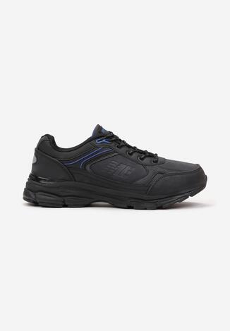 Czarno-Niebieskie Buty Sportowe Iomite