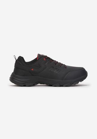 Czarno-Czerwone Buty Sportowe Ionehe