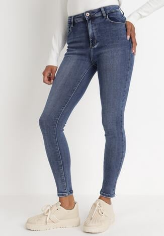 Niebieskie Jeansy Skinny Dorelaia