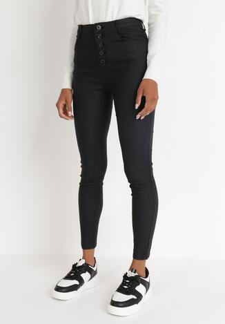 Czarne Spodnie Skinny Althaea