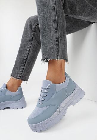 Niebieskie Sneakersy Iolotis
