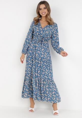 Niebieska Sukienka Naerarpia