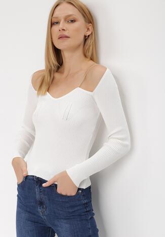 Biały Sweter Cillaea