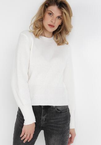 Biały Sweter Nemyle