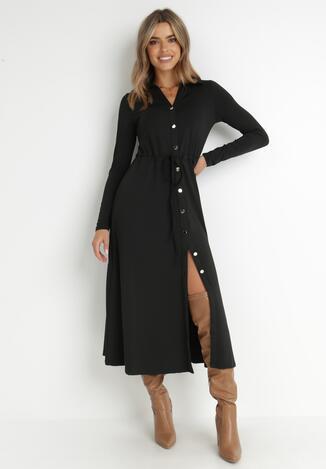 Czarna Sukienka Sofane