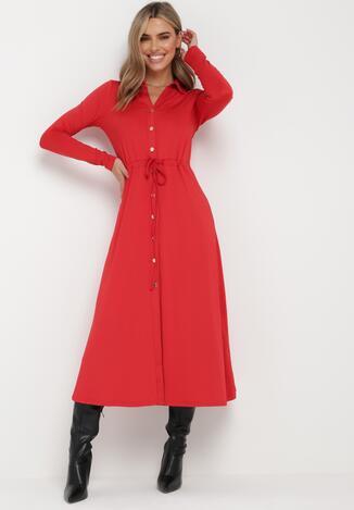 Czerwona Sukienka Sofane