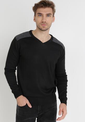 Czarny Sweter Melyse