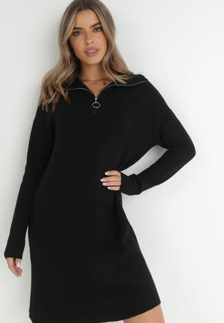 Czarna Sukienka Iomene