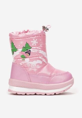 Różowe Śniegowce Chionoreia