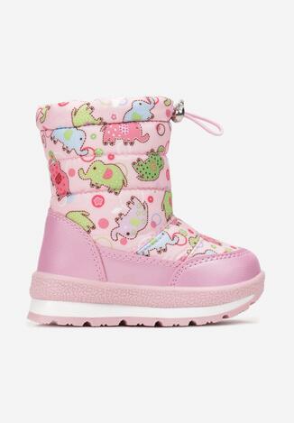 Różowe Śniegowce Delosa
