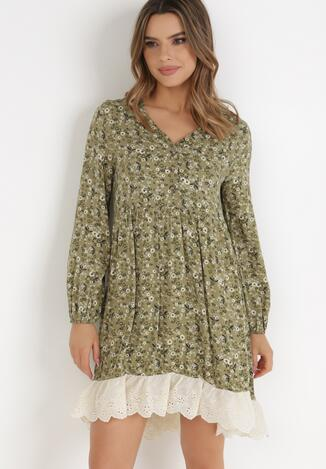 Zielona Sukienka Ferethe