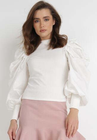 Biała Bluzka Ocypephise