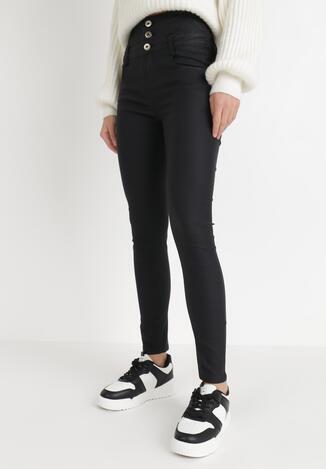 Czarne Spodnie Skinny Savethe