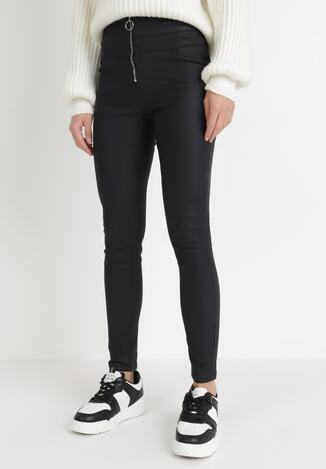 Czarne Spodnie Skinny Caellia