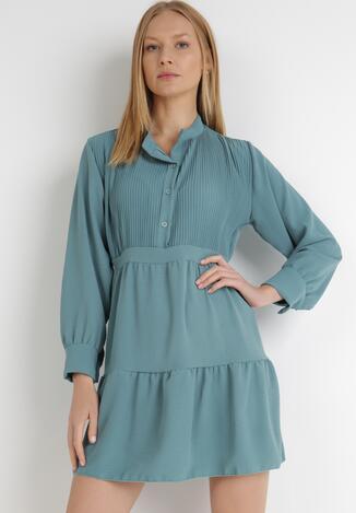 Niebieska Sukienka Sephase