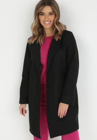 Czarny Płaszcz Dhonyre