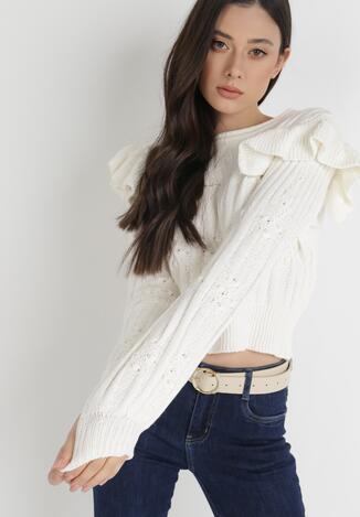 Biały Sweter Caleo