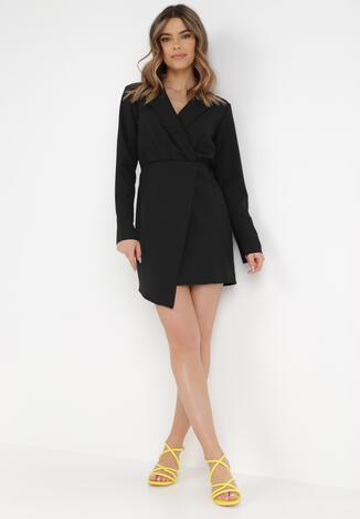 Czarna Sukienka Gwyna
