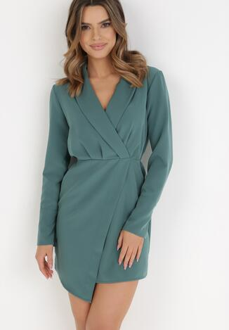 Zielona Sukienka Gwyna