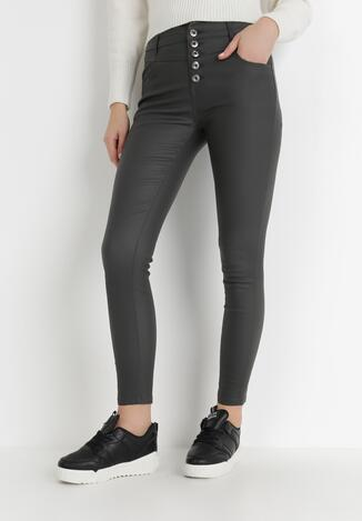 Ciemnoszare Spodnie Skinny Petreus