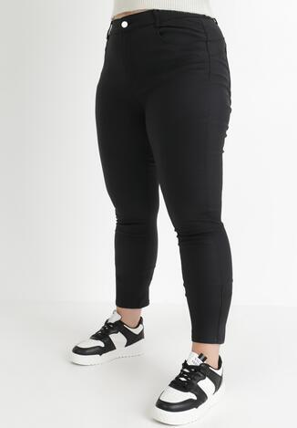 Czarne Spodnie Skinny Argile