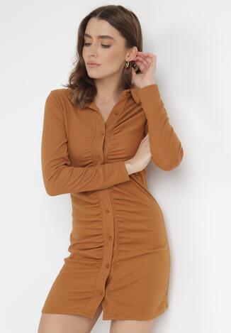 Camelowa Sukienka Nellase