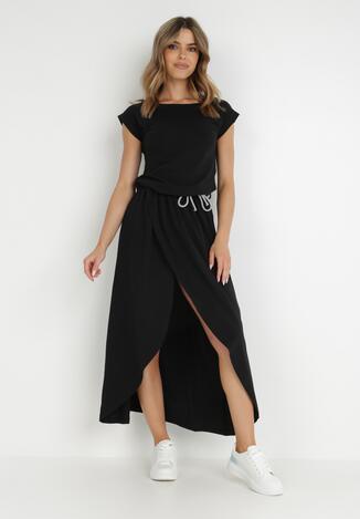 Czarna Sukienka Feriane