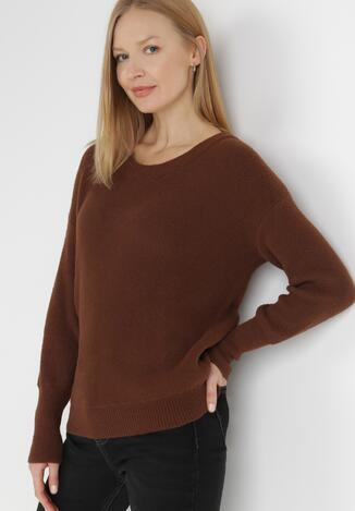Brązowy Sweter Ionoene