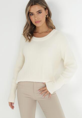 Kremowy Sweter Ionoene