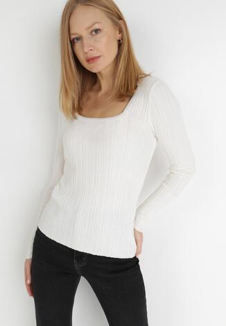 Kremowy Sweter Phynaria