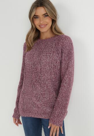 Ciemnoróżowy Sweter Agathenope