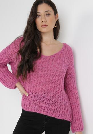 Różowy Sweter Amarherine