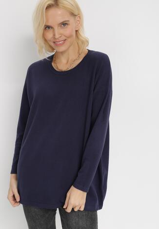 Granatowy Sweter Arephise
