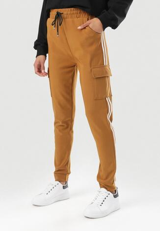 Camelowe Spodnie Corrarea